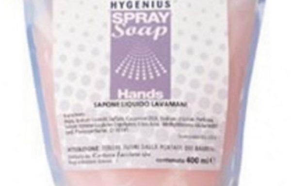 HYGENIUS HANDS sapone liq.spray ml.400 .