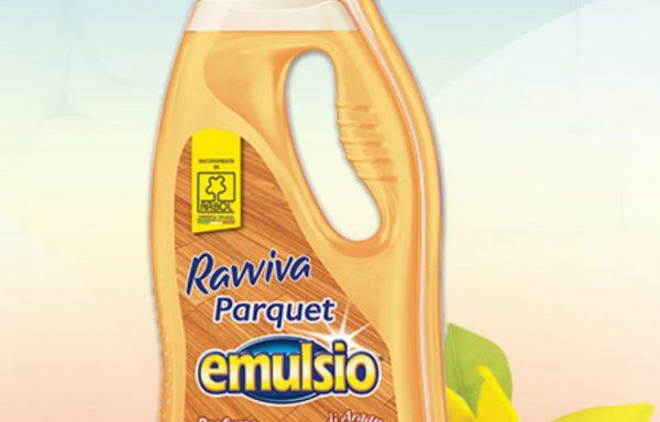 EMULSIO DETERGENTE PARQUET fl 750 ml.