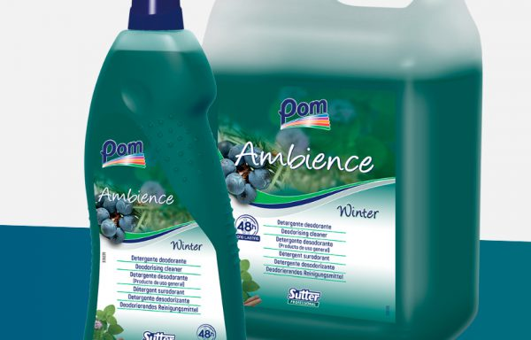 AMBIENCE WINTER detergente fl.lt.1