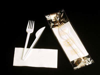 BIS POSATE BIANCHE (forch.+colt.+tovagliolo 1v.)