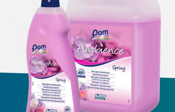 AMBIENCE SPRING detergente fl.lt.1
