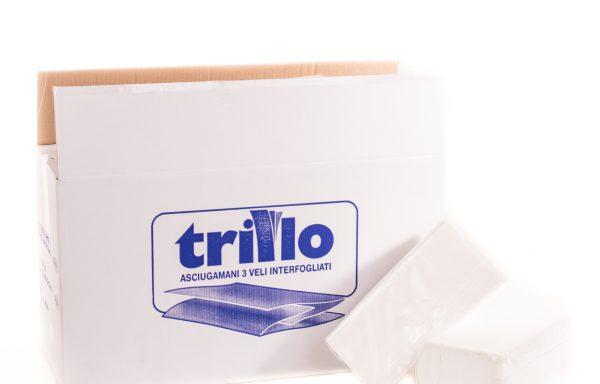 """ASCIUGAMANI in fogli INTERCALATI 3V.""""TRILLO"""""""