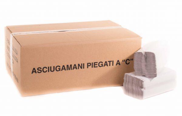 """ASCIUGAMANI in fogli PIEGATI A """"C"""" SILVER"""