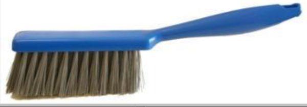 SPAZZOLA DA BANCO BLU fibre DETECTABILE grigie 70252
