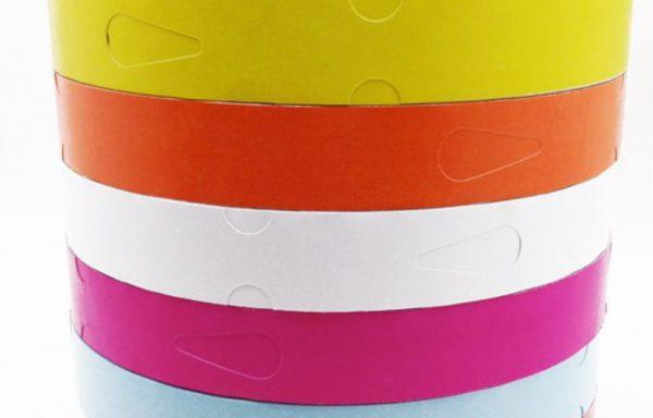 Targhette in rotolo detectabili  Codici: HEAT-TAGS25