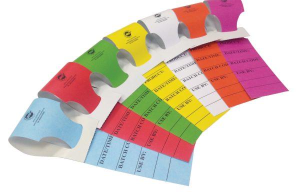 Targhette in rotolo detectabili  Codici: HEAT-TAGS50