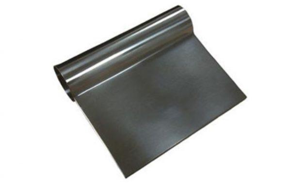 Raschietto in acciaio inox per impasti  Codici: S/ST