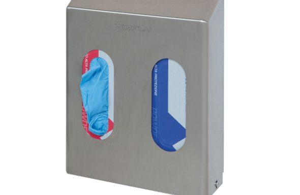 Dispenser per guanti 2 box  Codici: AP562A2-NEW