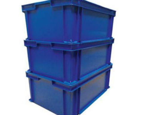 BOX DETECTABILE CON MANIGLIE MD403012: cassetta dim. 400x300x120mm