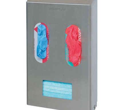 Dispenser per mascherine e guanti  Codici: AP562C-NEW