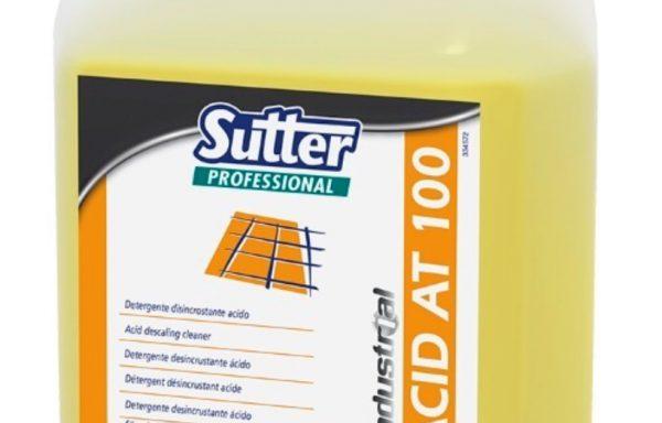 ACID AT 100 Detergente disincrostante acido