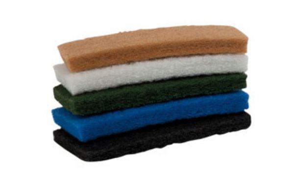 Tamponi per scrubber  Codici: 15123 – 15121 – 15122 – 15124 – 15125