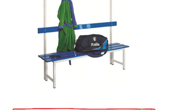 Panchina 1,5 metri con cappelliera