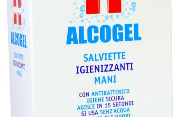 ALCOGEL SALVIETTE IGIENIZZANTI BUSTINA.