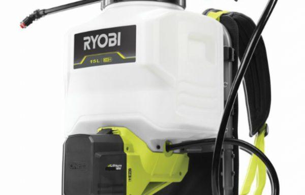 RYOBI2 Pompa Irroratrice a Zaino 18V