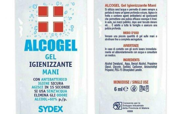 ALCOGEL BUSTINA IGIENIZZANTE 6 ML – BOX 10 PZ
