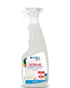 ULTRA HG – ALCOOL ISO PROPILICO AL 75% FLACONE DA 750