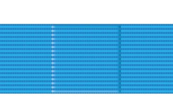 COD. W8550X CEROTTI BLU DETECTABILI e VISIBILI AI RAGGI-X mm. 72×25