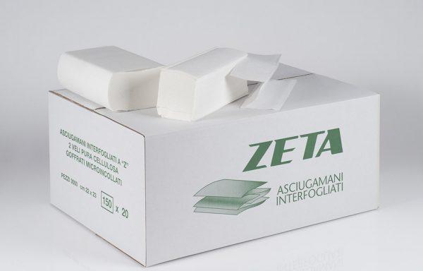 "ASCIUGAMANI in fogli INTERCALATI A ""Z"" NEW 2V"