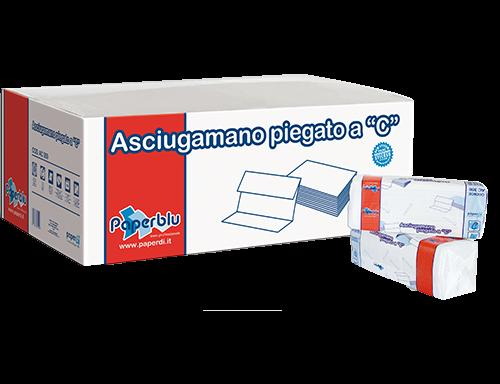 """ASCIUGAMANI PIEGATI A """"C"""" EXTRA PAPERDI'"""