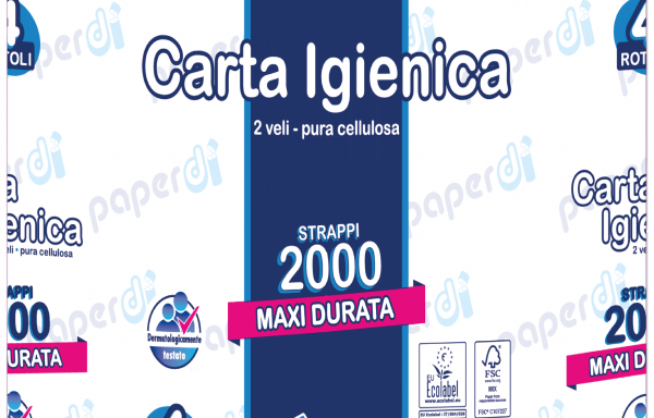 IGIENICA COMPATTA 2000 – 500 strappi
