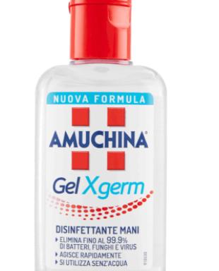 AMUCHINA fl.ml.80 GEL X-GERM -igienizzante mani-