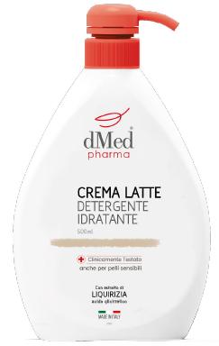 CREMA LATTE IDRATANTE/DETERGENTE DERMOMED 500ml.
