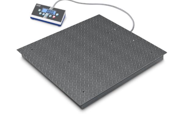 Bilancia da pavimento ad alta risoluzione con 2×3000 [d]
