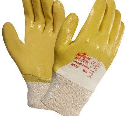 GUANTI antitaglio gialli con polsino N230 n°1