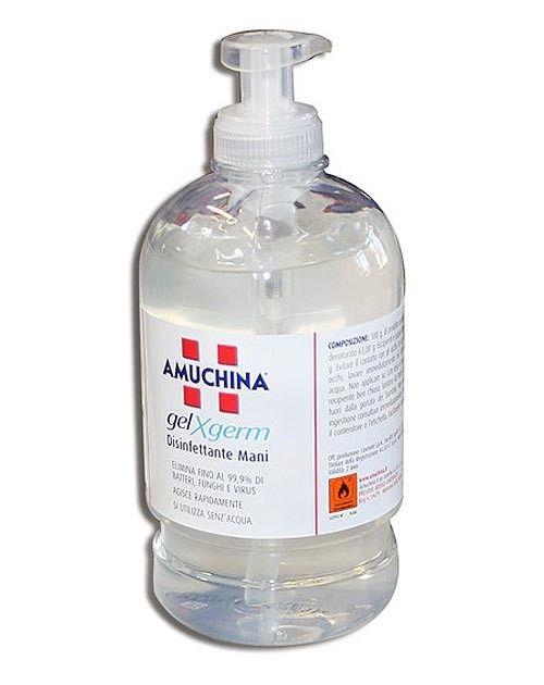 AMUCHINA GEL -igienizzante mani- fl.500ml.