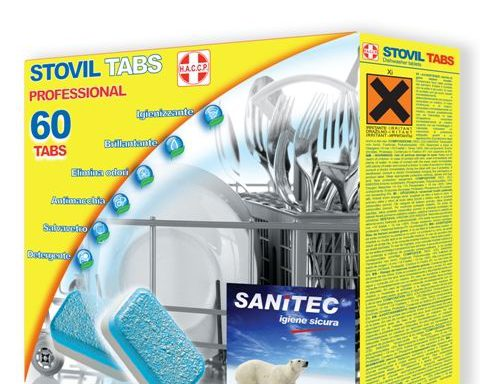 STOVIL TABS SANITEC conf.60 tabs italchimica