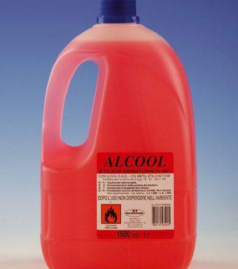 ALCOOL flacone lt.1,5