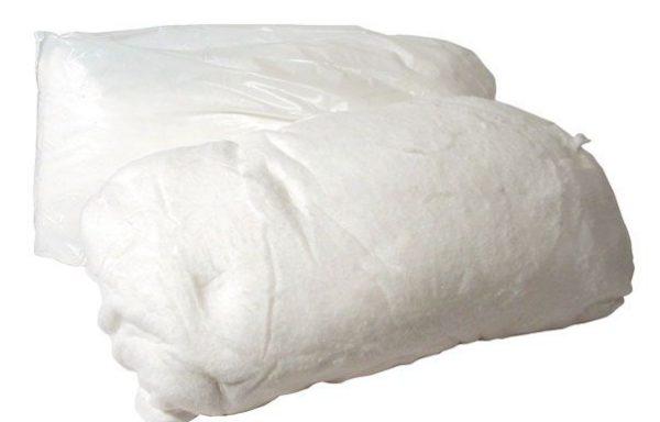 PEZZAME COTONE BIANCO SCELTO  kg.1