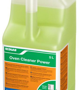 OVEN CLEANER POWER ECOLAB ta.5 lt.